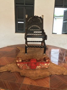 My Grandfather's royal footstool